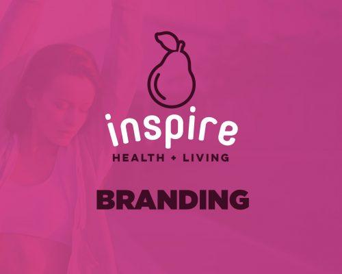 Inspire Health + Living Branding
