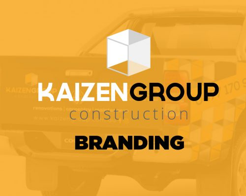 Kaizen Construction Group Branding